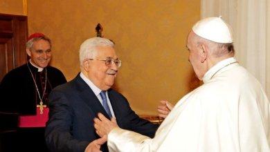 Photo of البابا فرنسيس يعقد محادثات مع الرئيس الفلسطيني حول القدس والقضية الفلسطينية
