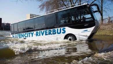 "Photo of روسيا : تسيير ""حافلات برمائية "" في شوارع موسكو ونهرها"