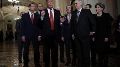 "Photo of "" ترامب"" ينسحب من اجتماع مع قادة الكونجرس لبحث تمويل الجدار الحدودي"