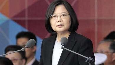 Photo of رئيسة تايوان ترفض الدعوة إلى الوحدة مع الصين