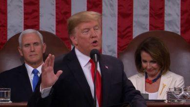 Photo of ترامب في خطاب حالة الاتحاد .. لنجعل أميركا أولا في قلوبنا