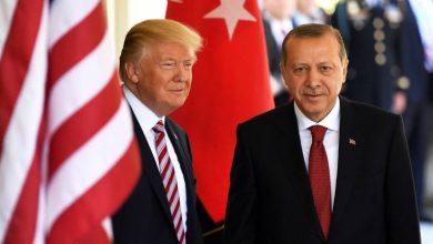 Photo of ترامب وأردوغان يبحثان في اتصال هانفي التطورات الأخيرة في سوريا