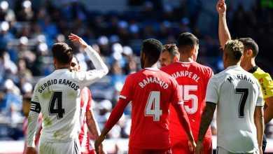Photo of ريال مدريد يخسر أمام جيرونا 2-1 في الدوري الإسباني .. وطرد راموس