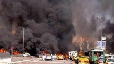 "Photo of نجاة فريق شبكة ""إن بي سي نيوز"" الأمريكية من انفجار شرق سوريا"