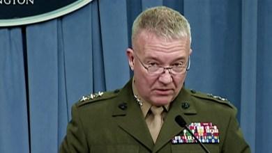 Photo of البنتاجون : تعيين الجنرال ماكينزي رئيساً جديداً للقيادة المركزية الأمريكية
