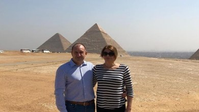 Photo of مصر : رئيس بلغاريا يزور الأهرامات ويقول إن زيارتها كانت حلما كبيرا له
