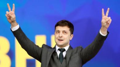 Photo of رسميًا: إعلان فوز زيلينسكي برئاسة اوكرانيا