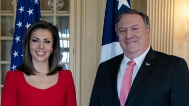 Photo of بومبيو : تعيين مورغان أورتاغوس متحدثة باسم الخارجية الأمريكية