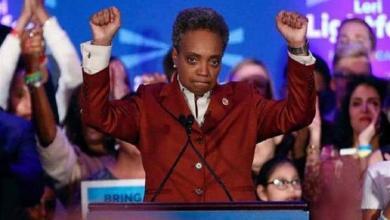 Photo of أول أمريكية من أصل أفريقي تفوز بمنصب عمدة مدينة شيكاغو
