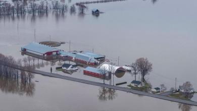 Photo of طوارئ في العاصمة الكندية بسبب ارتفاع منسوب مياه النهر