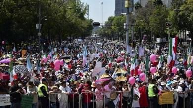 Photo of مسيرة حاشدة في المكسيك للمطالبة باستقالة الرئيس أوبرادور