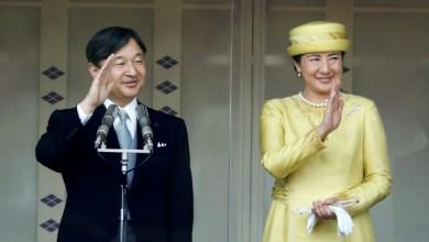 Photo of أول ظهور علني لإمبراطور اليابان منذ اعتلائه العرش