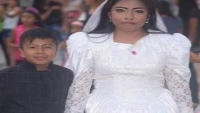Photo of جدل في المكسيك بعد زواج امرأة بالغة بطفل صغير