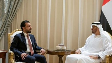 Photo of ولي عهد أبوظبي يستقبل رئيس مجلس النواب العراقي