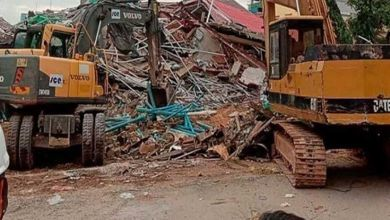 Photo of ارتفاع ضحايا انهيار مبنى في كمبوديا إلى 28 قتيلاً ومصابًا