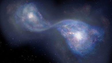 Photo of أقدم اندماج لمجرتين في الكون يعود تاريخه إلى 13 مليار سنة