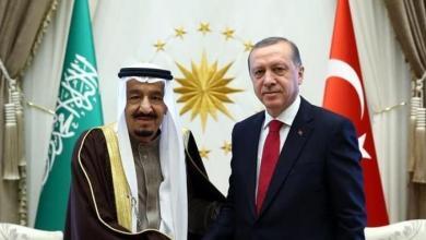 Photo of الملك سلمان يتلقى اتصالاً من أردوغان للتهنئة بالعيد