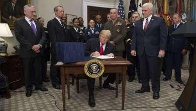 Photo of ترامب يعلن عن تخفيض ميزانية الدفاع الأمريكية