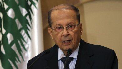 """Photo of الرئيس اللبناني يأسف لـ """"استهداف العقوبات الأمريكية نائبين من حزب الله"""""""
