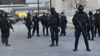 Photo of إضراب بعض أفراد الشرطة الفيدرالية المكسيكية احتجاجا على خطة تسريح مقترحة