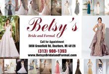Photo of أزياء بيتسي لبدلات العرائس والملابس الرسمية للسيدات