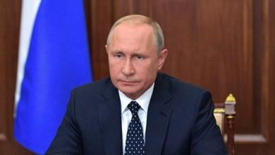 Photo of بوتين يوقع مرسومًا بتعليق العمل بمعاهدة الصواريخ الموقعة مع أمريكا