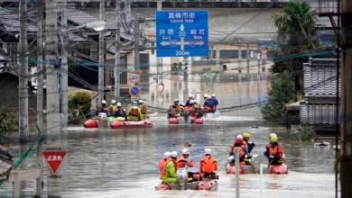 Photo of أمطار غزيرة باليابان تتسبب في إجلاء 716 ألف شخص