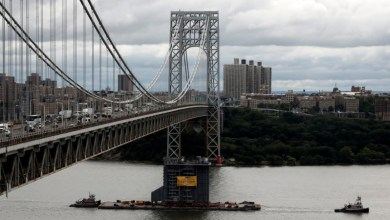 Photo of إغلاق جسر في نيويورك لفترة وجيزة بسبب جسم مشبوه