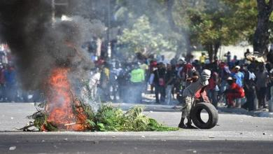 Photo of احتجاجات في هايتي بسبب أزمة الوقود