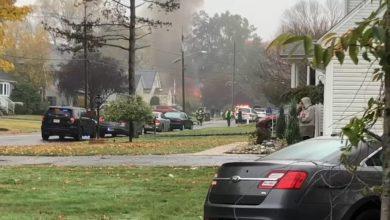Photo of تحطم طائرة فوق منزل بولاية نيوجيرسي الأمريكية
