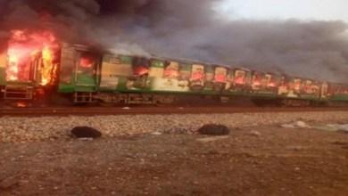 Photo of ارتفاع عدد ضحايا حريق قطار البنجاب الباكستاني إلى 73 شخصًا