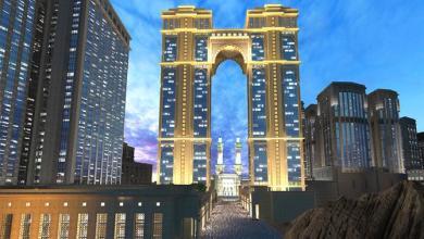 Photo of بدء تنفيذ أعلى مُصلى معلق في العالم بمكة