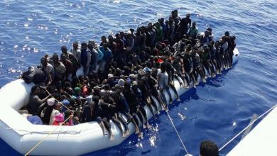Photo of البحرية الليبية: إنقاذ 82 مهاجرًا غرب طرابلس
