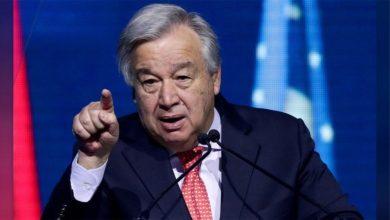 Photo of الأمين العام للأمم المتحدة يدعو لوقف فوري للتصعيد في سوريا
