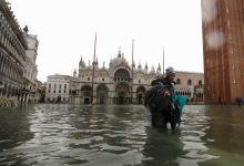 Photo of غرق مدينة البندقية الإيطالية جراء فيضانات هي الأكبر منذ 50 عامًا