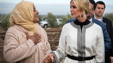 Photo of كيف بررت السيدة المغربية تقبيل يد إيفانكا ترامب؟