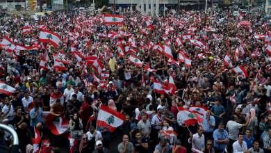 Photo of مظاهرات حاشدة في لبنان رفضًا للمماطلة في تشكيل الحكومة الجديدة