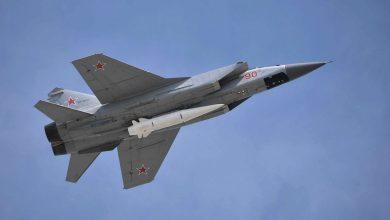 "Photo of روسيا تختبر صاروخ ""الخنجر"" فائق السرعة في القطب الشمالي"