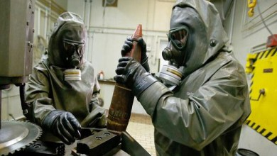 Photo of أمريكا تعلن تأييدها للحظر التام على إنتاج الأسلحة الكيميائية