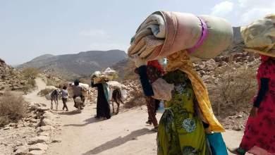 Photo of نزوح 393 ألف شخص باليمن منذ بداية 2019