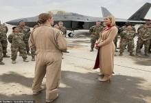 Photo of إيفانكا ترامب تزور قاعدة العديد الأمريكية في قطر (صور)