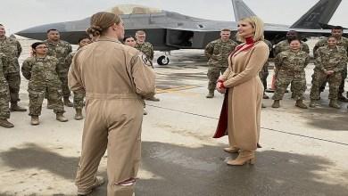 Photo of إيفانكا ترامب تزور قاعدة أمريكية في قطر (صور)