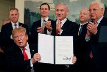 Photo of ترامب قد يعلن عن صفقة القرن قبل تشكيل الحكومة الإسرائيلية