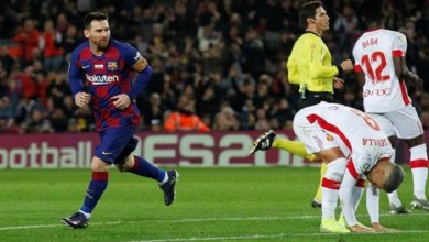 Photo of بالفيديو.. هاتريك ميسي يقود برشلونة لفوز كبير على ريال مايوركا