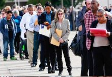 Photo of إضافة 266 ألف وظيفة في أمريكا خلال نوفمبر الماضي
