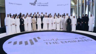 """Photo of """"الخطوط السبعة"""" تحمل الهوية الإعلامية الجديدة للإمارات (صور وفيديو)"""