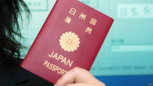 جواز السفر الياباني