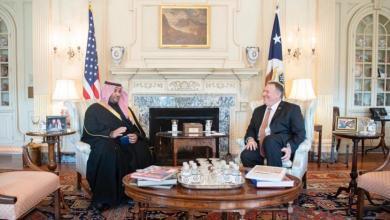 Photo of بومبيو يلتقي نائب وزير الدفاع السعودي وأمريكا تحذر رعاياها في المملكة