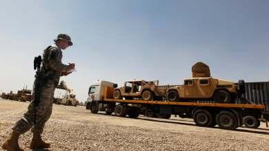 Photo of هجوم صاروخي عنيف يستهدف معسكر يضم قوات أمريكية شمال بغداد