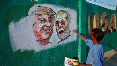 Photo of ترامب يفتتح أكبر ملعب كريكيت في العالم خلال زيارته للهند